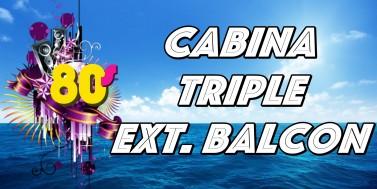 TRIPLE EXT.BALCON