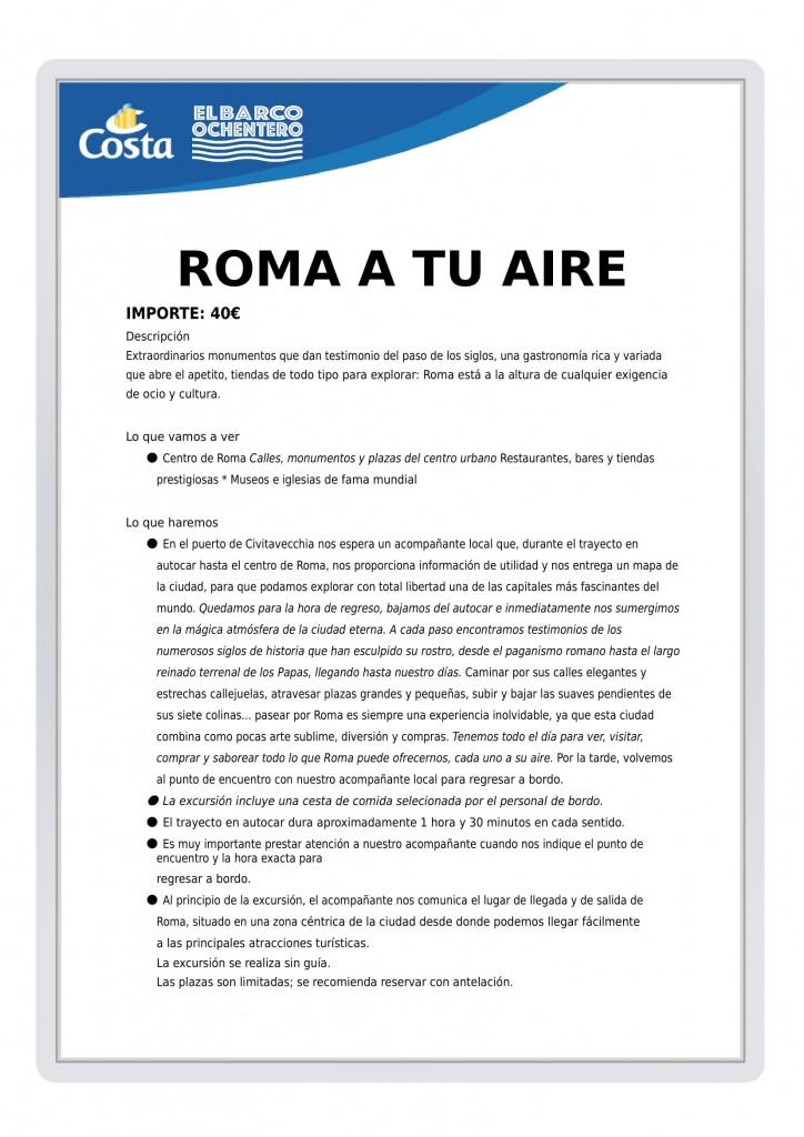 EXCURSION ROMA A TU AIRE-1
